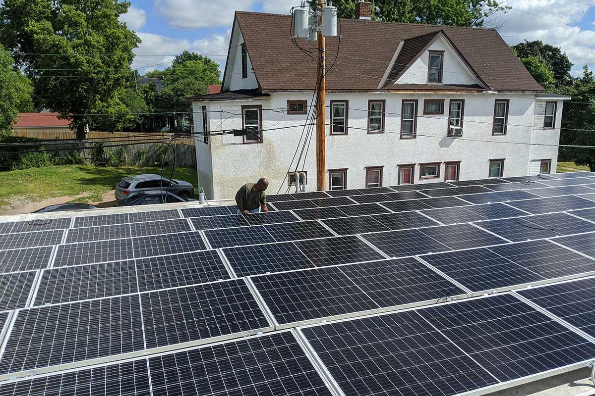 1200 Plymouth Solar